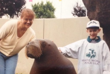 Picture of Cody on his wish - Walrus