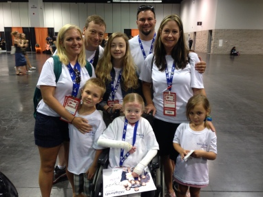 Picture of WIsh Kid Molly - front - & Family